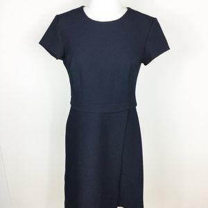 NWT Ann Taylor Textured Navy Career Dress sz. 2